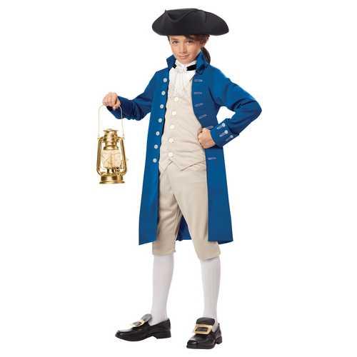California Costumes Paul Revere Boy Costume One Color Medium