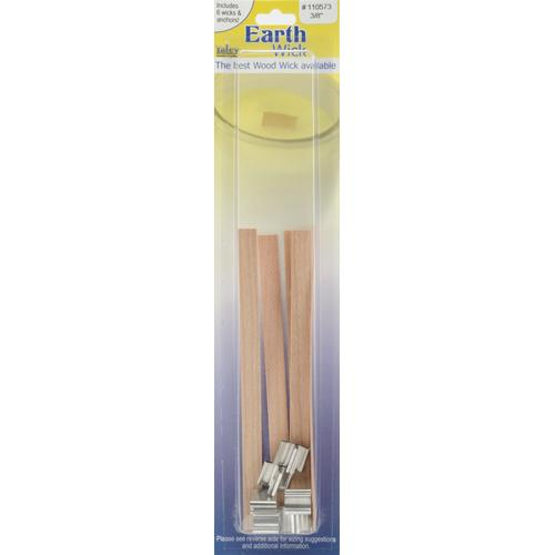 Earth Wick Keeper Wood Medium 0.375 Inch