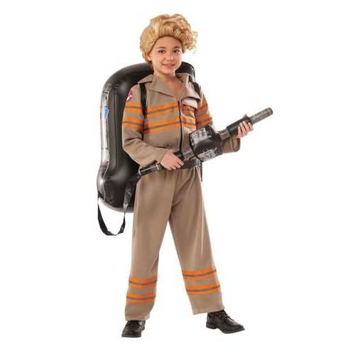 Girl'S Ghostbusters Movie Deluxe Child Costume Small