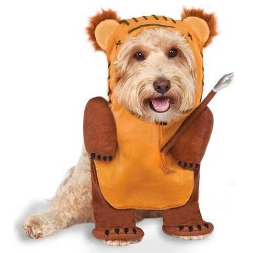 Star War Running Ewok Pet Classic Costume Meduim