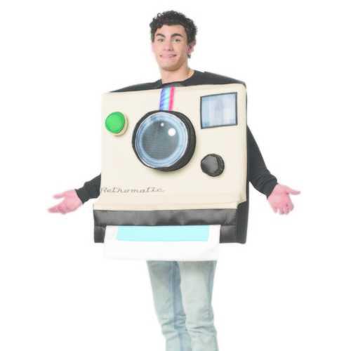 Rasta Imposta Unisex Instant Camera Costume Party Funny Adult