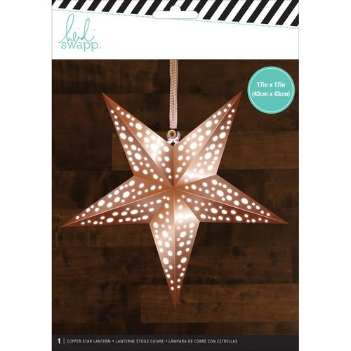 American Crafts Heidi Swapp Paper Lanternsmedium Star Copper