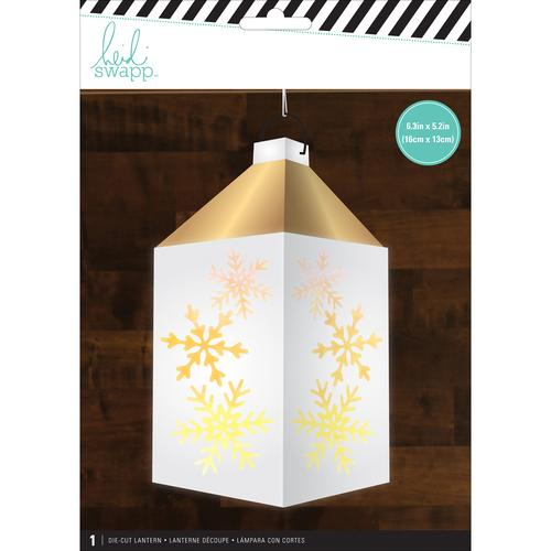 American Crafts Heidi Swapp Paper Lanterns Holiday Snowflake