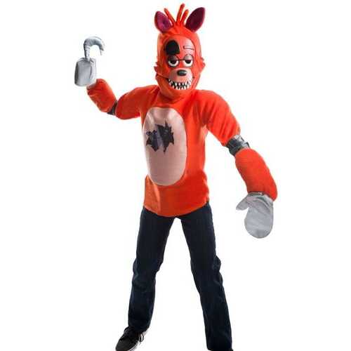Kid'S Five Nights At Freddy'S Deluxe Foxy Costume Male Meduim
