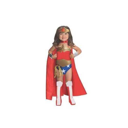 Dc Comics Kids Wonder Woman Costume Female Small