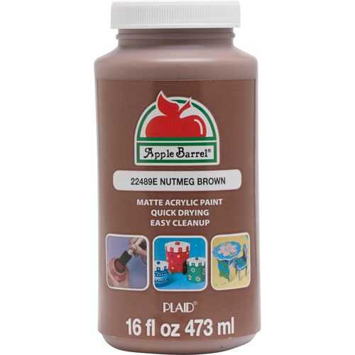 Apple Barrel Colors - Nutmeg Brown 16 oz