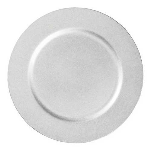 Charger Plate - Silver - 13 Inches