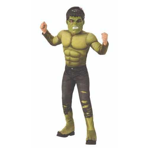 Boys Infinity War Deluxe Hulk Child'S Costume Medum