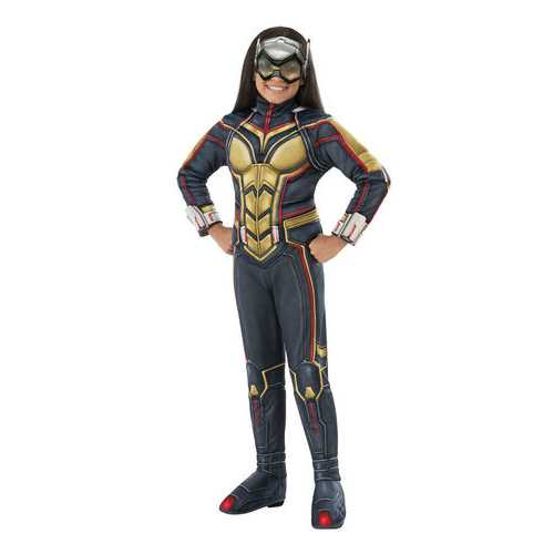 Ant-Man Girl'S Deluxe Wasp Costume Medium