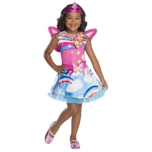 Girl'S Barbie Dreamtopia Childrens Costume Fairy Extra Small