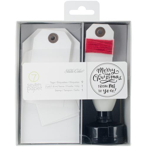 Seven Paper Felix Stamp Tags Twe Kit