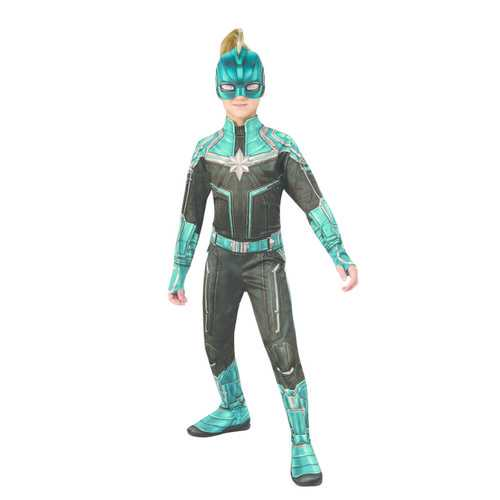 Captain Marvel Child'S Kree Suit Girl'S Costume Medium