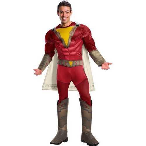 Men'S Adult Deluxe Shazam Costume X-Large