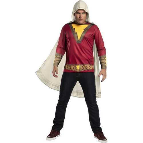 Men'S Adult Shazam Movie Costume Top Standard