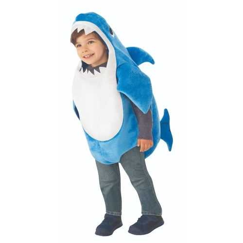 Kid'S Daddy Shark Costume With Sound Chip Infant