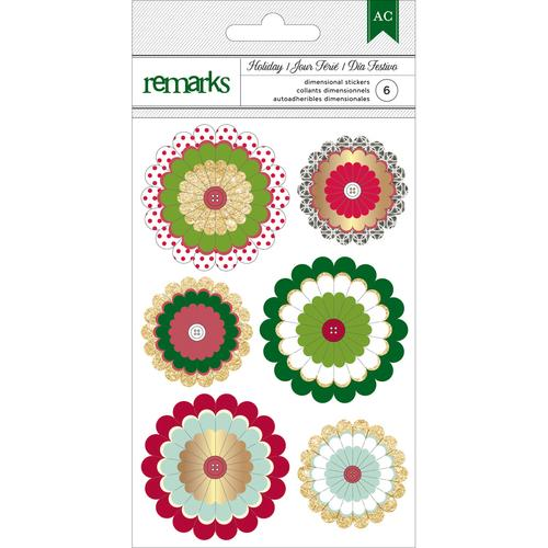 Christmas Delights Paper Rosettes