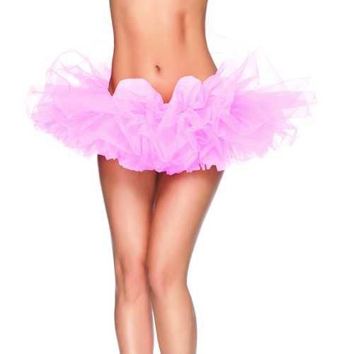 Leg Avenue Organza Tutu Light Pink One Size