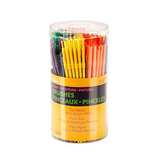 Cannister Kids Brushes Canister