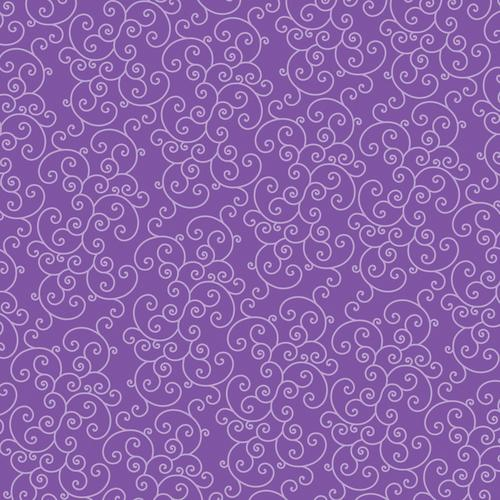Core Basics Patterned Cardstock 12 X12 Inches Purple Swirl