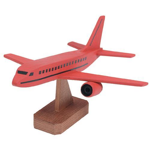Wood Model Kit Jumob Jet 7 X 4 Inches