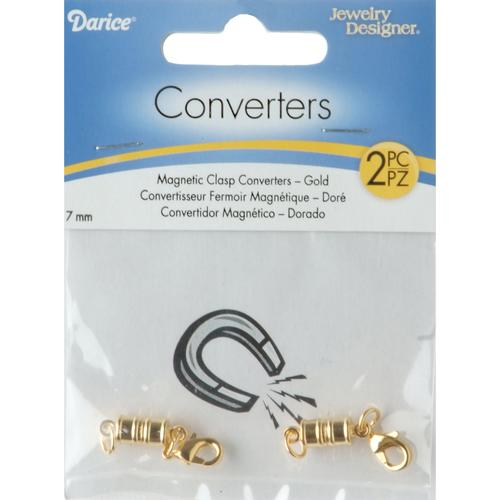 Magnetic Clasp Converter 7 mm Gold