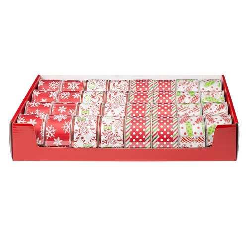 Christmas Ribbon Candy 2.5 X 25 Ft