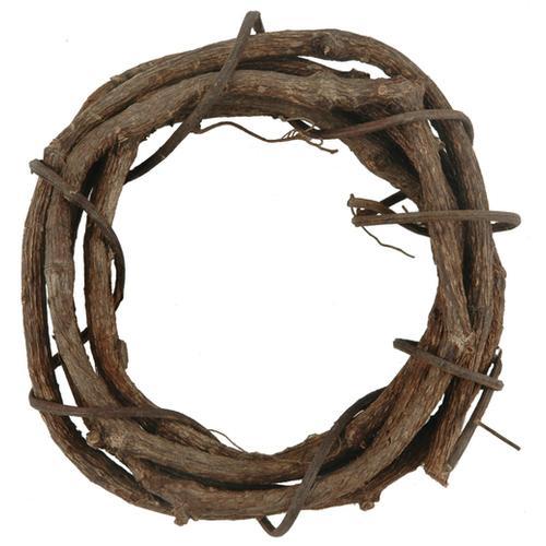 Grapevine Wreath 6 Inches Natural