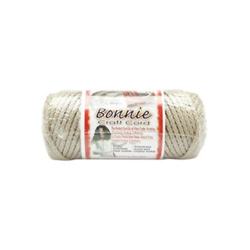Pepperell Bonnie Braid Metallic Grey 4mm 50 Yards White and Iri