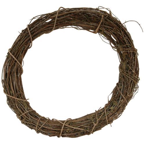 Grapevine Wreath 8 Inches Natural