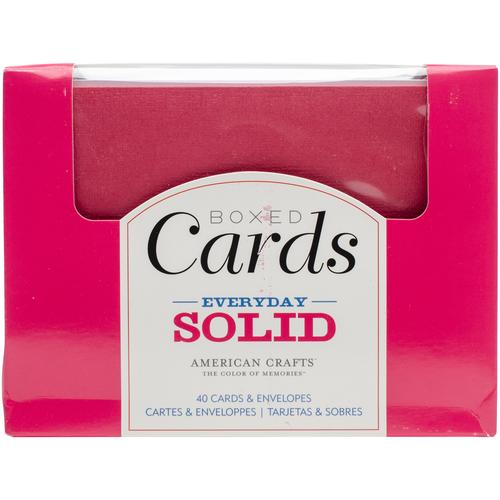 A2 Cards And Envelopes 4.375 X 5.75 Everyday Solid