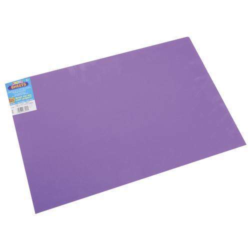 Foam Sheet Purple 2mm thick 12 X 18 Inches