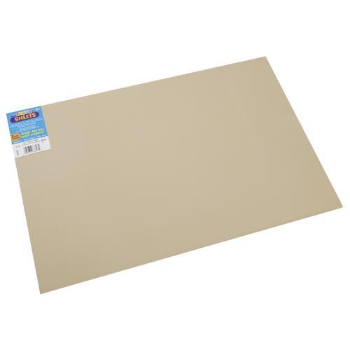 Foam Sheet Tan 2mm thick 12 X 18 Inches
