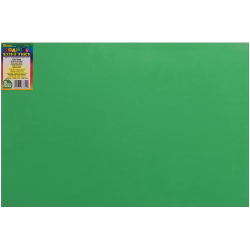 Foam Sheet Christmas Green 3mm thick 12 X 18 Inches