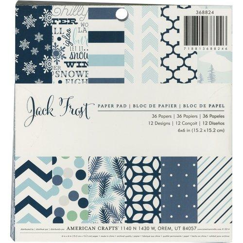 Christmas 6 x 6 Paper Pad Jack Frost