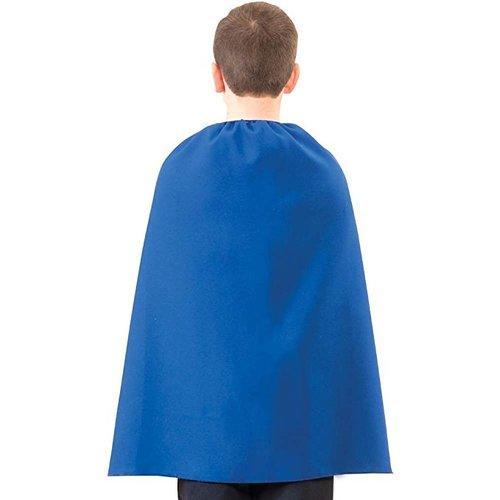 Blue Superhero Child