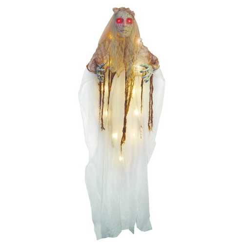 Illuminated Creepy Bride Hanging 72 Inches