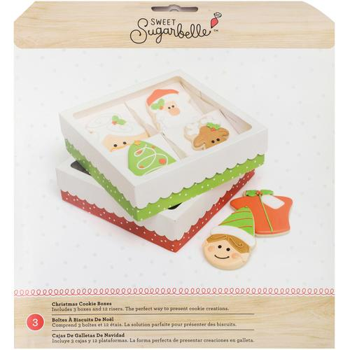 Sugar Belle Quad Cookie Box Holiday