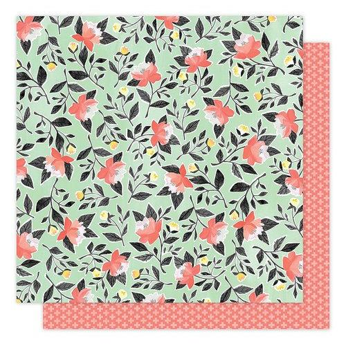 1 Canoe 2 Hazelwood Collection 12 X 12 Double Sided Paper Hazelwood Roses