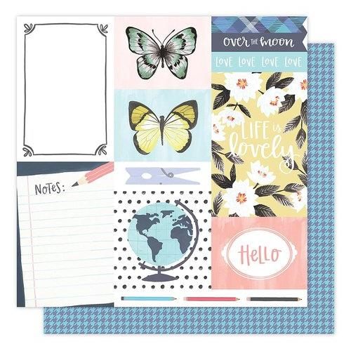 1 Canoe 2 Hazelwood Collection 12 X 12 Double Sided Paper Notes From Hazel