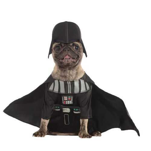 Star War Pet Darth Classic Vader Costume Small