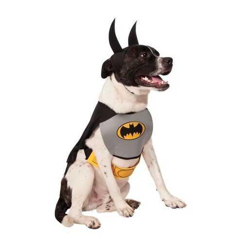 Classic Pet Batman Costume Meduim