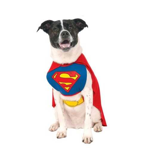 Classic Without Arms Pet Superman Costume Small