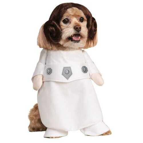 Star Wars Pet Classic Princess Leia Costume Meduim