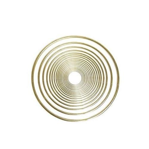 Pepperell Brass Ring 4 Inches
