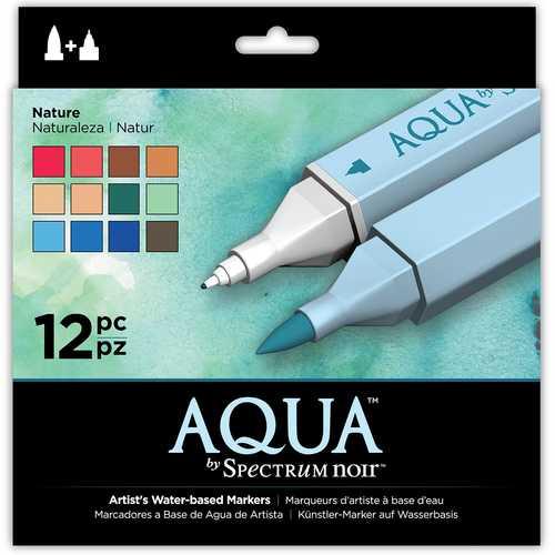Spectrum Noir Aqua Markers Nature