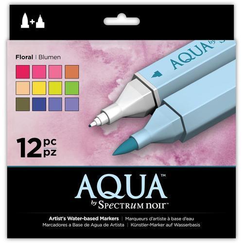 Spectrum Noir Aqua Markers Floral