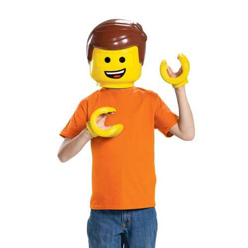 Emmet Child Costume Kit Yellow