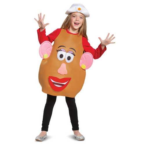 Potato Head Deluxe Unisex Costume Brown 4-6