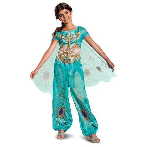 Jasmine Girls Teal Classic Costume(3T-4T)