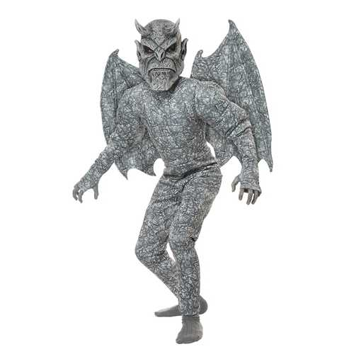California Costumes Ghastly Gargoyle Boys Costume Gray X-Large